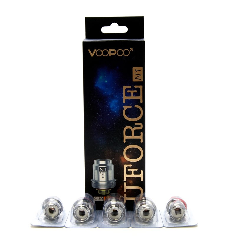 VooPoo UFORCE N Series Replacement Coils (5pk)