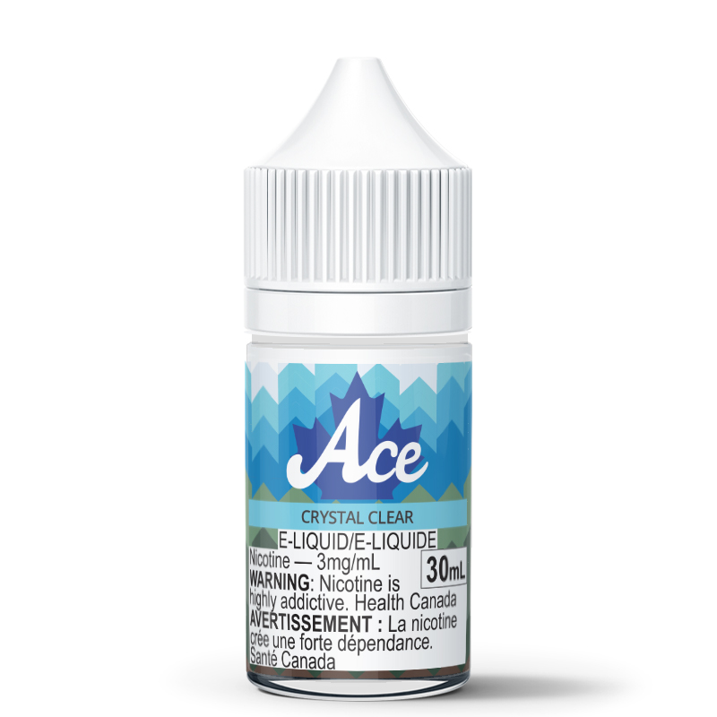 Crystal Clear (Flavorless) E-Liquid - Ace (180 Smoke) - 30mL