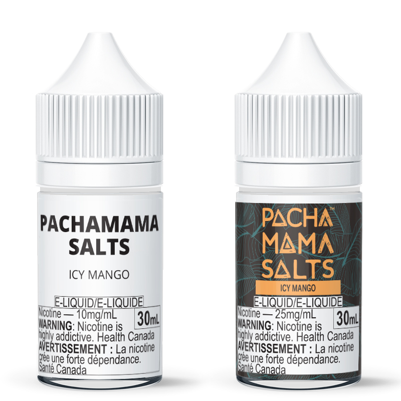 Pachamama Salts: Icy Mango E-Liquid (30mL)