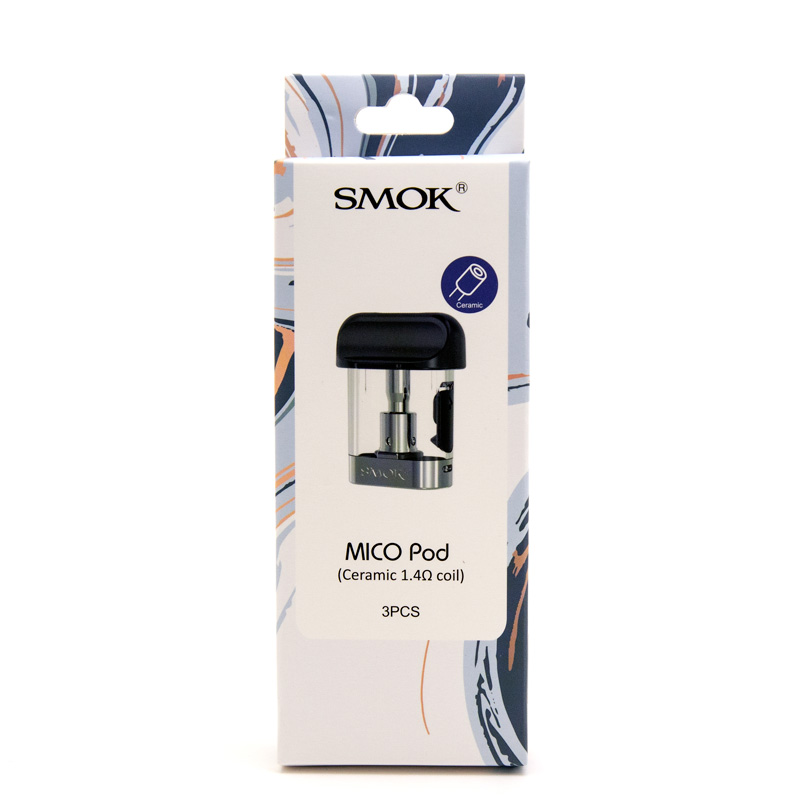 SMOK Mico Replacement Pods - 3pk (Ceramic)