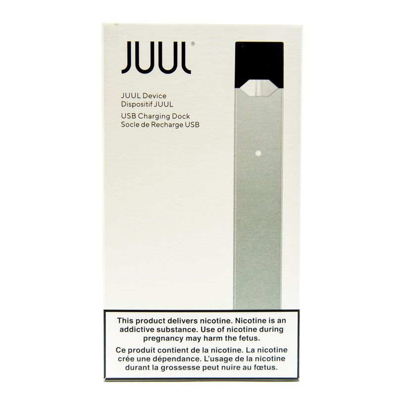 JUUL Basic Kit (Charger and Battery) - Silver