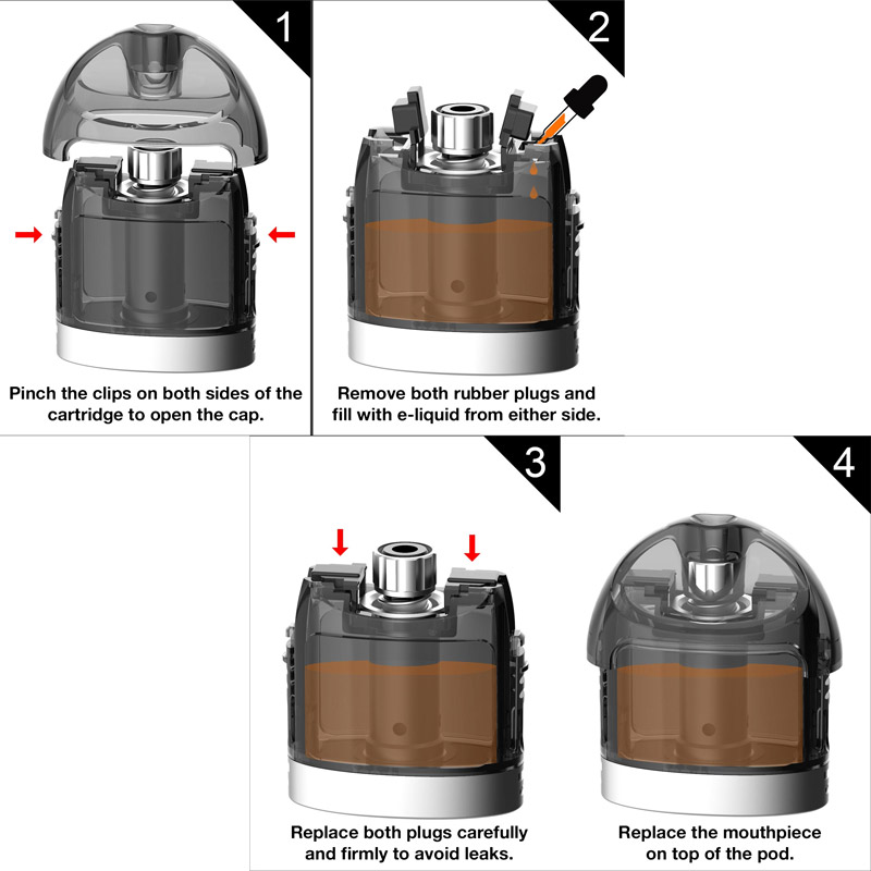 Lost Vape Lyra Pod System - How To Fill