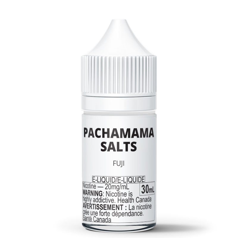 Pachamama Salts: Fuji E-Liquid (30mL) - 20mg/mL (B&W Label)
