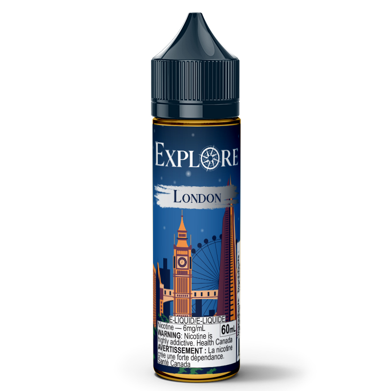 London E-Liquid - Explore (60mL): 6mg/mL