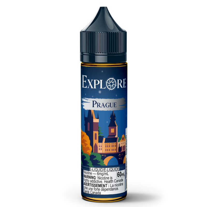 Prague E-Liquid - Explore (60mL): 6mg/mL