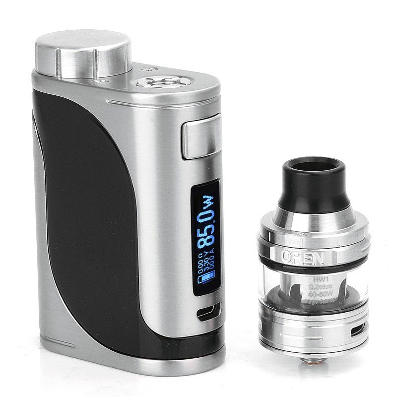 Eleaf iStick Pico 25 - 85W Full Kit with Ello Tank - Silver/Black