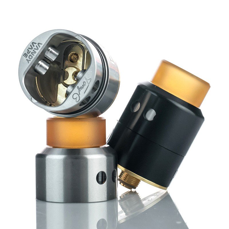 Vandy Vape Pulse 22 BF RDA - Black and Stainless Steel