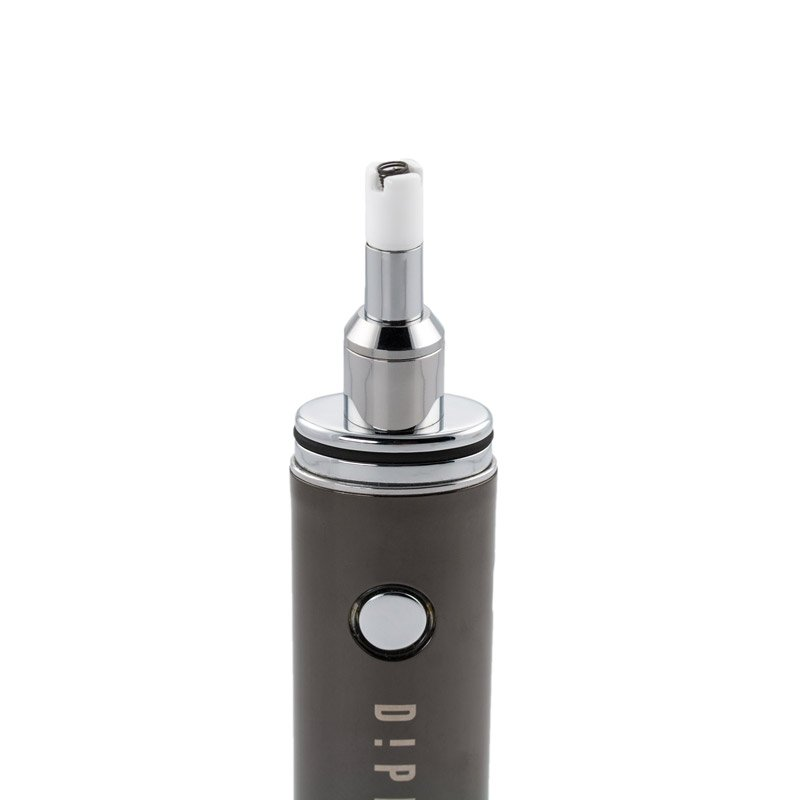 Dipstick Dipper Herbal Concentrate Vaporizer - CHARCOAL @180smoke