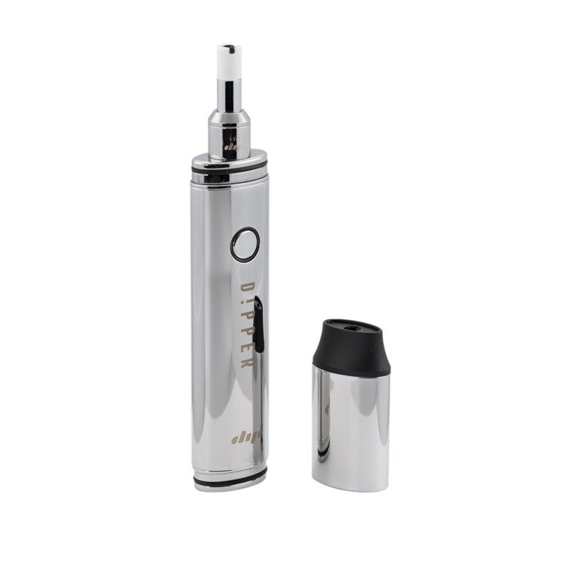 Dipstick Dipper Herbal Concentrate Vaporizer - CHROME @180smoke
