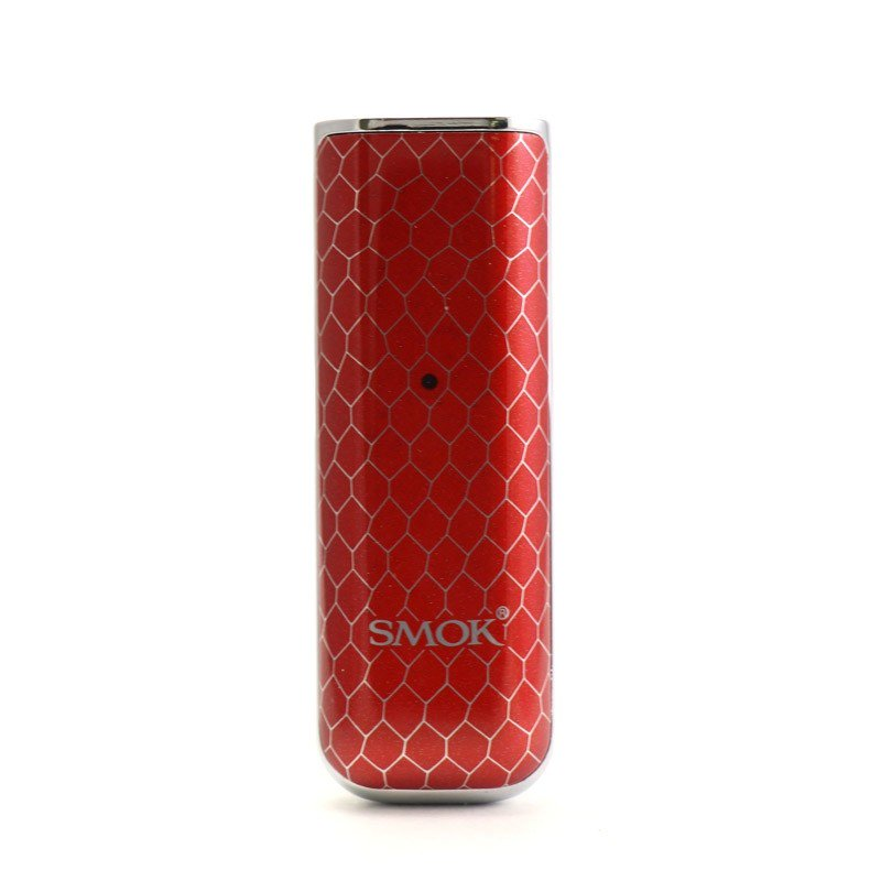 SMOK NOVO Open-Pod Kit (450mAh) - Prism Chrom & Red Cobra