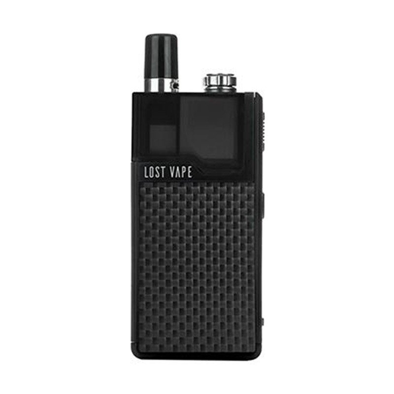 Orion DNA GO Pod Kit by Lost Vape - Black Carbon Fiber Device + Pod (sold separately)