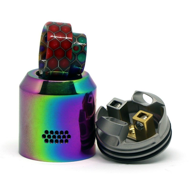 Rebirth RDA by Hellvape x Mike Vapes - Rainbow